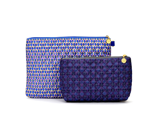 Quilted Pouch Set