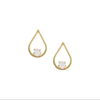 Lucienne Earrings in Gold