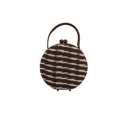 Circle Fabric Cross Bag