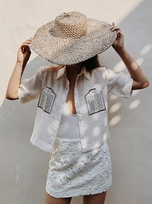 Women's Barong Pocket Shirt