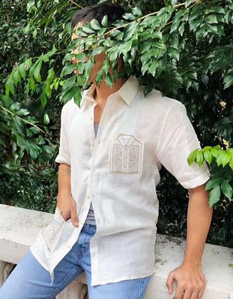 Men's Barong Pocket Shirt
