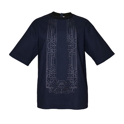 Unisex Boxy Barong Shirt 1