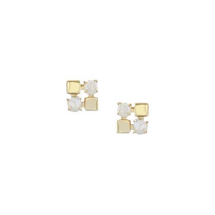 Zaha Earrings in Gold