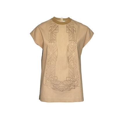 Ladies' Boxy Barong Shirt