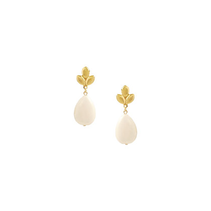 Ina Earrings in Ivory