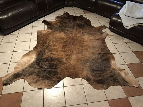 Jumbo Genuine Cowhide Rug