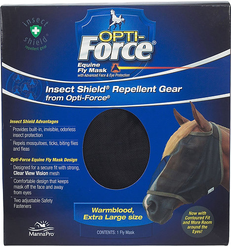 Opti-Force Fly Mask w/o Ears
