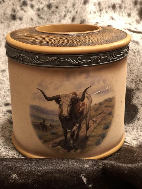 Ceramic Longhorn Holder