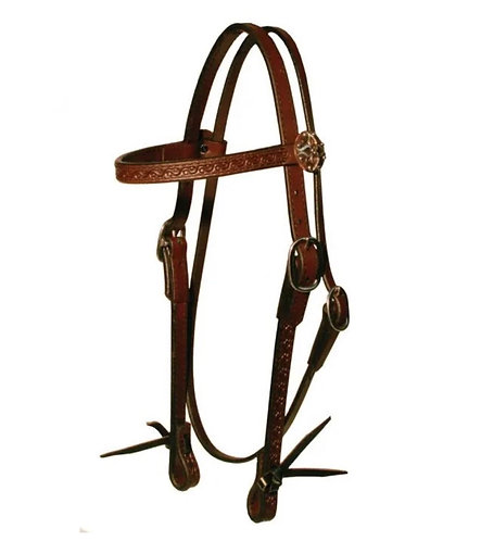 Circle Y Daisetta Browband Headstall