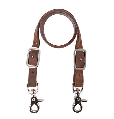 Chocolate Roughout Wither Strap
