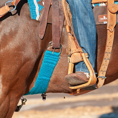 Classic Equine Colored 100% Mohair Cinch