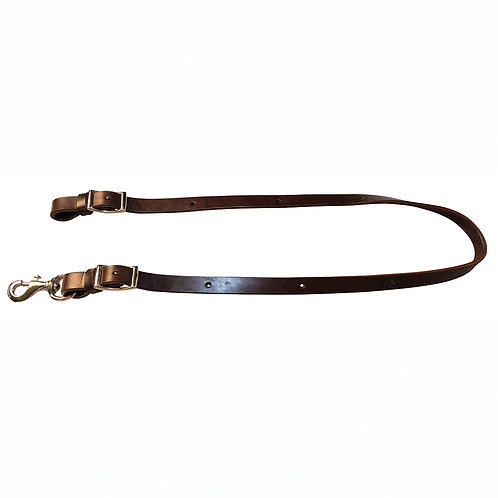 "Circle Y 3/4"" Leather Tiedown"