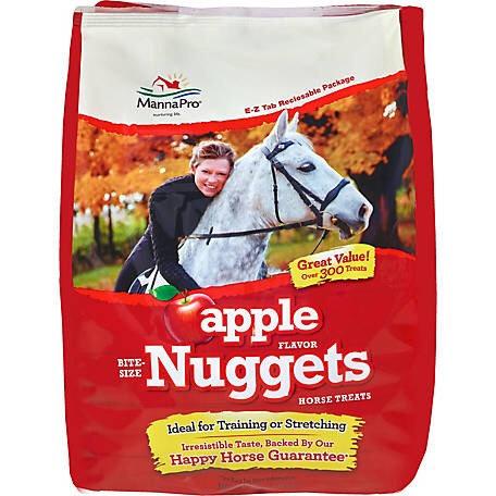 Bite Size Apple Nuggets Horse Treats 4lb