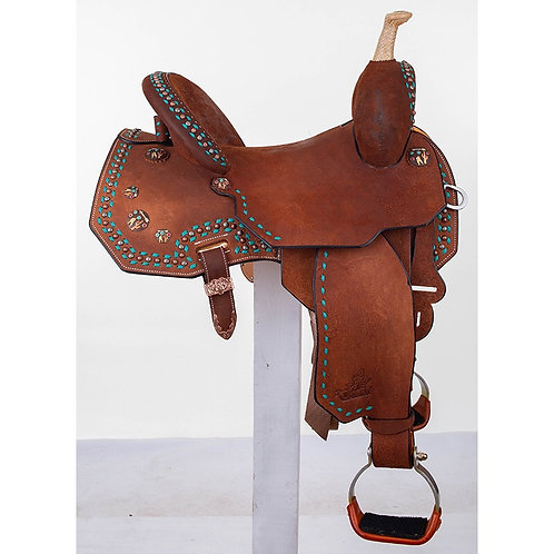 "Martha Josey Cash Desert Edition 14.5"" Saddle"
