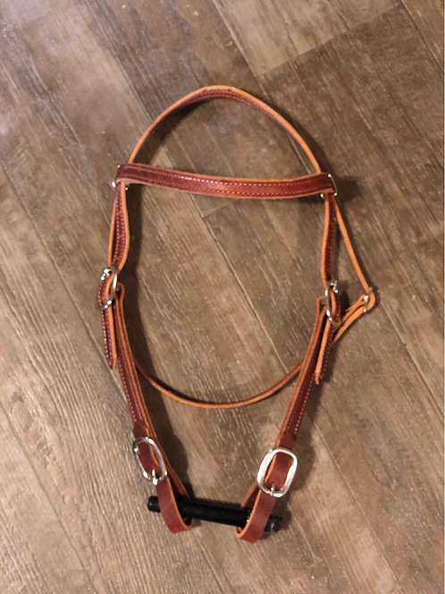 New Leather Browband Headstall - Assorted Styles