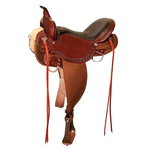 High Horse by Circle Y Daisetta Trail Saddle