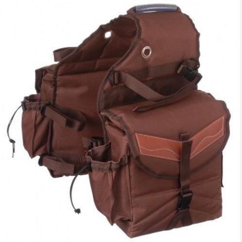 Multi-Pocket Insulated Saddle Bag