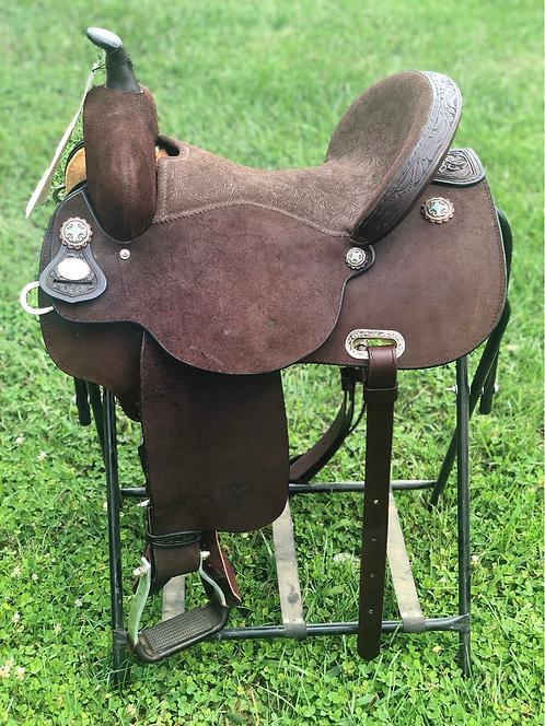 "15"" Circle Y Kelly Kaminski Barrel Saddle"