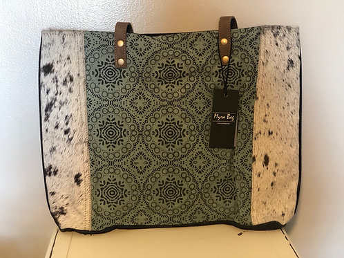 Minty Cow Tote