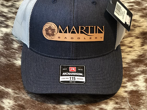 Martin Saddlery Etched Leather Hats
