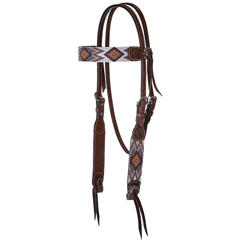 Circle Y Infinity Bead Headstall