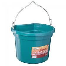 8 QT. Flat Back Bucket