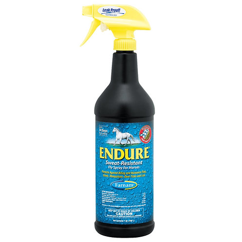Endure Sweat Resistant Fly Spray For Horse 1 qt