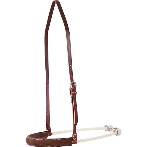 Martin Saddlery Single Rope Chocolate Cover Noseband