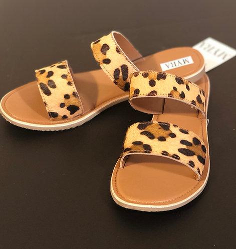 Leopard Hide Sandals