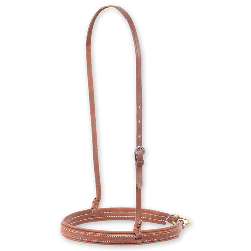 Martin Saddlery Natural Harness Leather Noseband