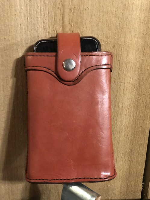 Handmade Leather Phone/Flask Holder