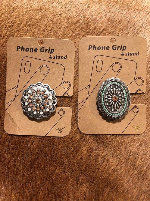 Rhinestone Phone Grip & Stand