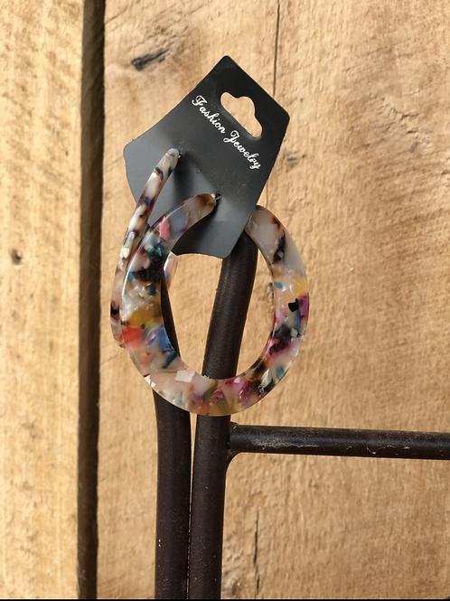 Colorful Loop Earrings