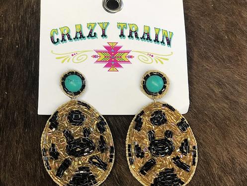 Lilly Leopard Earrings