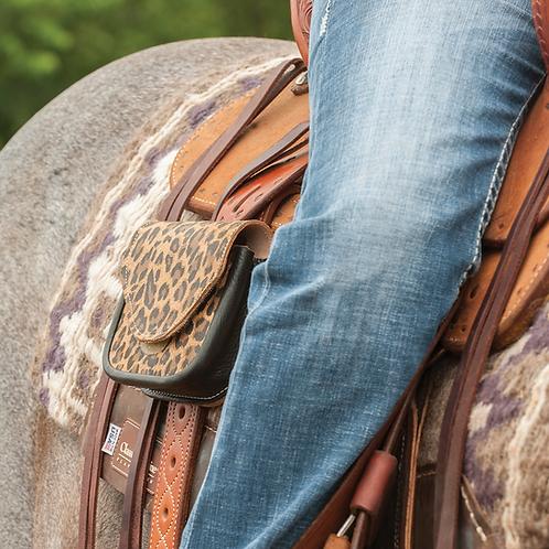 Martin Cheetah Print Saddle Pocket