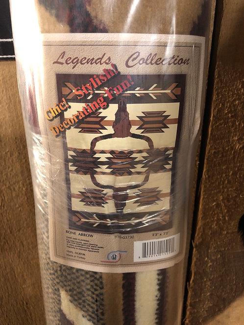 """Longhorn Area Rug 5'3""""x7'2"""""""