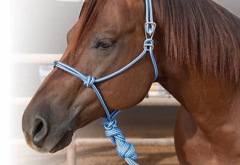 Professional Choice Easy On Rope Halter w/Lead