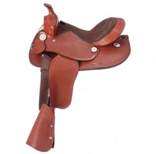 "12"" Jr Showman Pony Saddle"