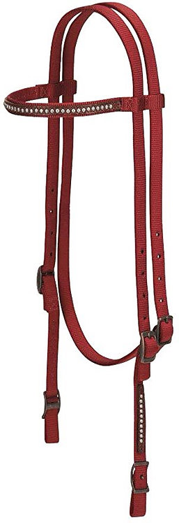 Weaver Nylon Headstall with Studs