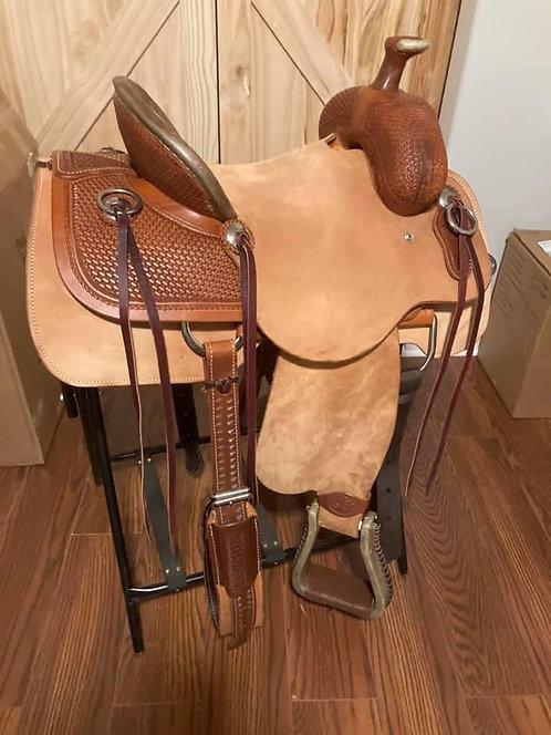 "14"" SRS Roughout Ranch Saddle"