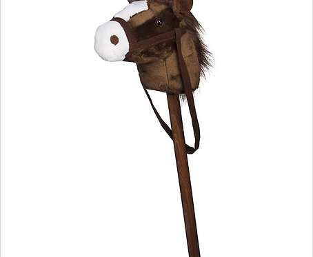 Plush Stick Horse w/ Multiple Sounds