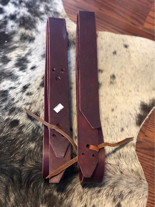 Heavy Leather Latigo