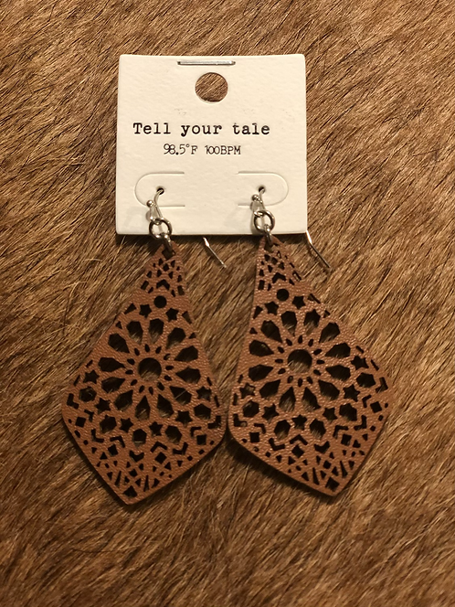 Soft Leather Earrings