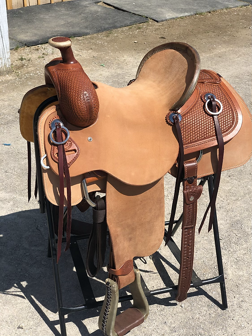 """14"""" SRS Roughout Ranch Saddle"""