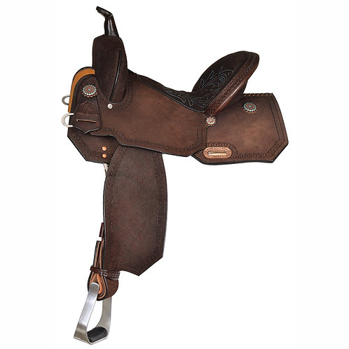 Circle Y High Horse Lindale Roughout Barrel Saddle