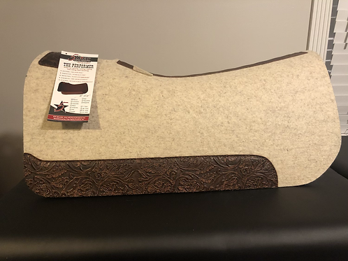 "5 Star The Performer 3/4"" Contoured Natural Pad 32x32"