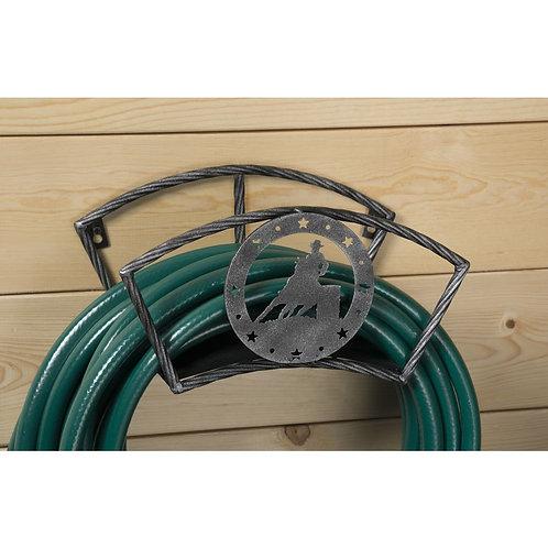 Barrel Racer Hose Holder Black/Silver