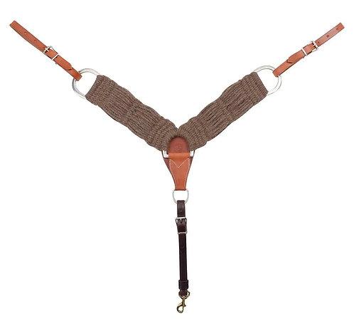 "Martin Saddlery 3"" Natural Alpaca Breastcollar"