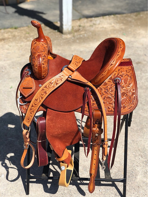 "14.5"" Paul Taylor Barrel Saddle"