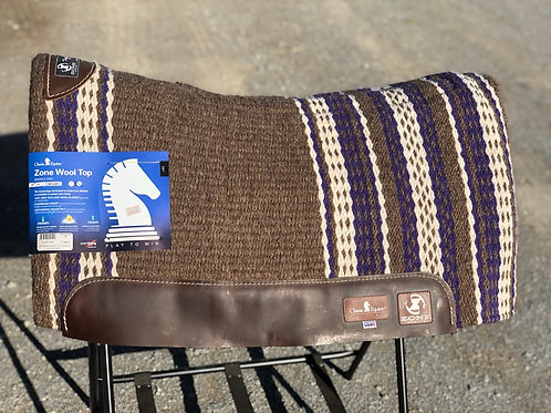 Classic Equine Zone Wool Top Pad